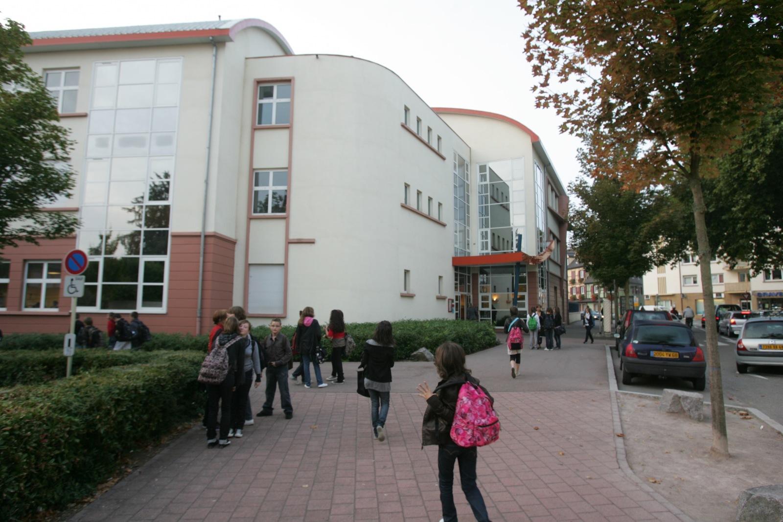 college saint Jean extérieure colmar